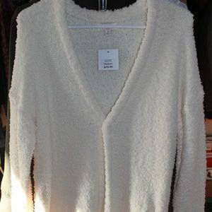 NWT Umgee Fuzzy Knit Sweater sz M